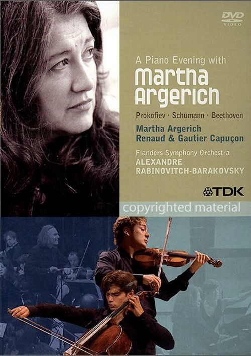 Piano Evening With Martha Argerich, A