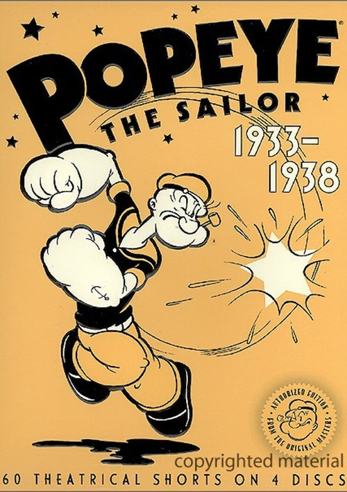 Popeye The Sailor: 1933-1938 - Volume One