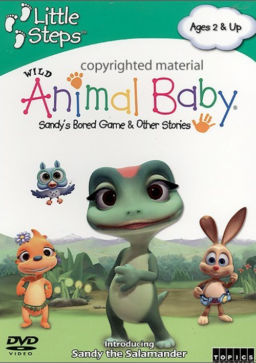 Wild Animal Baby: Sandys Bored Game & Other Stories