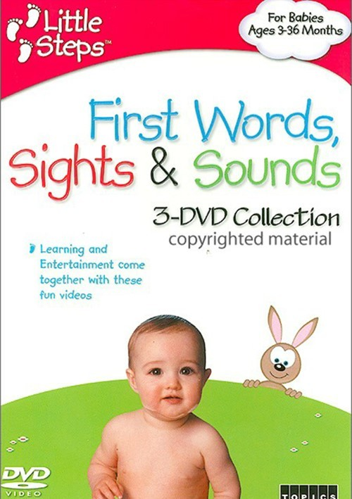 Little Steps: First Words, Sights & Sounds