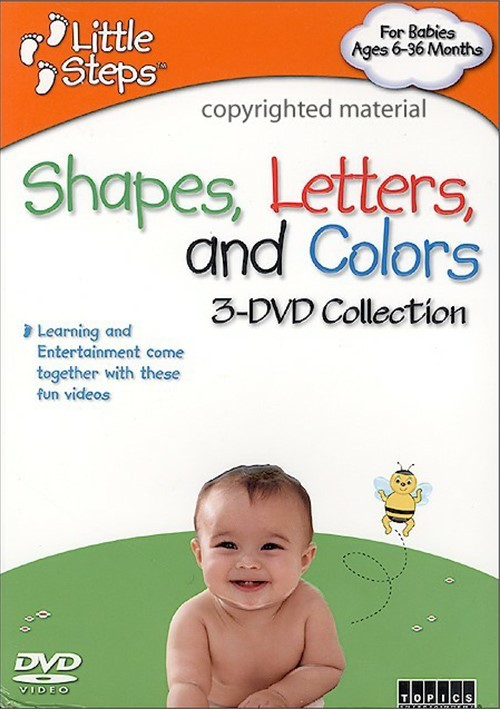 Little Steps: Shapes, Letters, And Colors