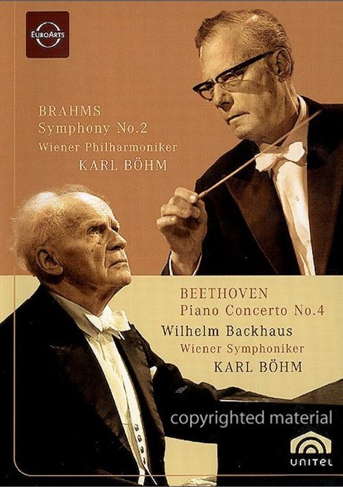 Brahms Symphony No.2 / Beethoven Piano Concerto No.4: Karl Bohm