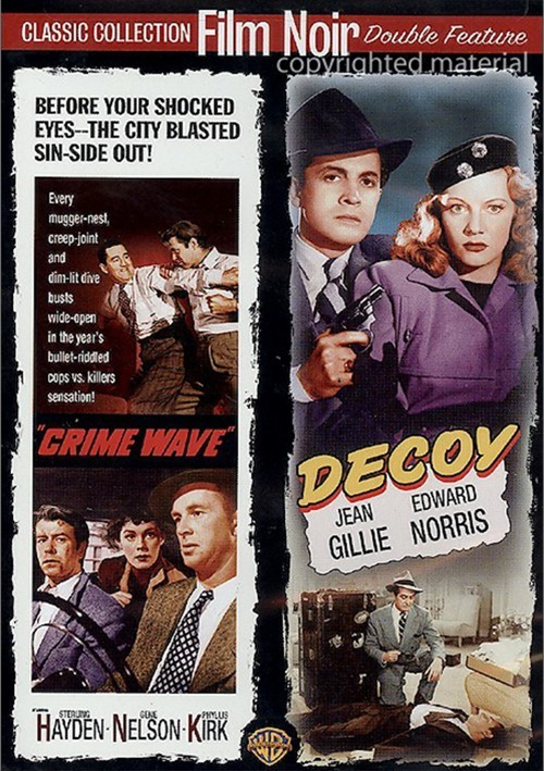 Crime Wave / Decoy (Double Feature)