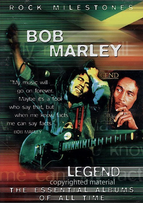 Bob Marley: Legend - The Essential Albums Of All Time
