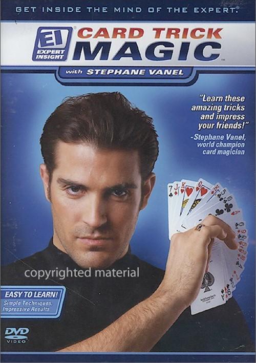 Card Trick Magic With Stephane Vanel