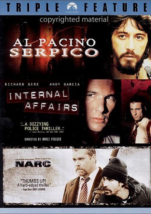 Serpico / Narc / Internal Affairs (Triple Feature)