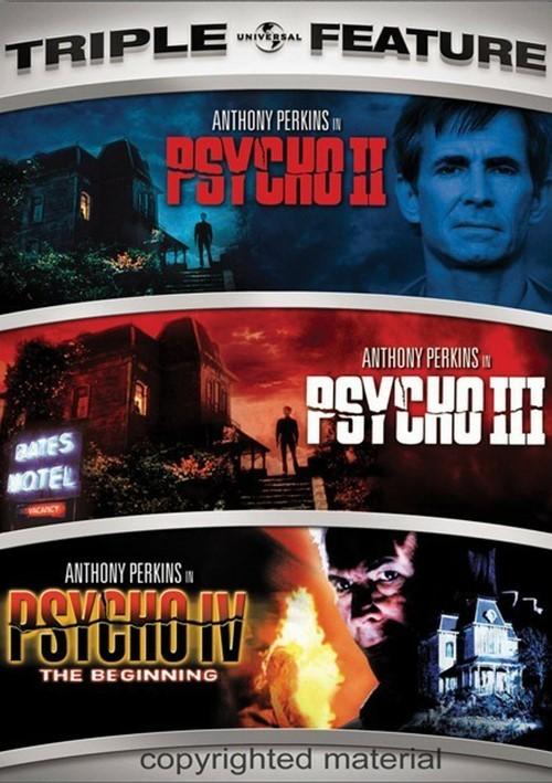 Psycho II / Psycho III / Psycho IV: The Beginning (Triple Feature)