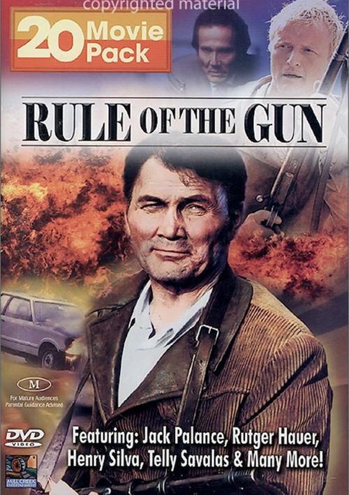 Rule Of The Gun: 20 Movie Pack