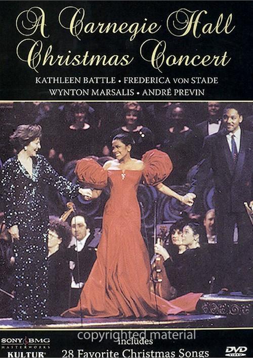 Carnegie Hall Christmas Concert, A