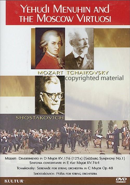 Yehudi Menuhin And The Moscow Virtuosi