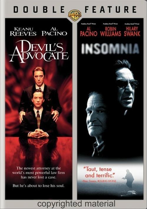Devils Advocate, The / Insomnia (Double Feature)
