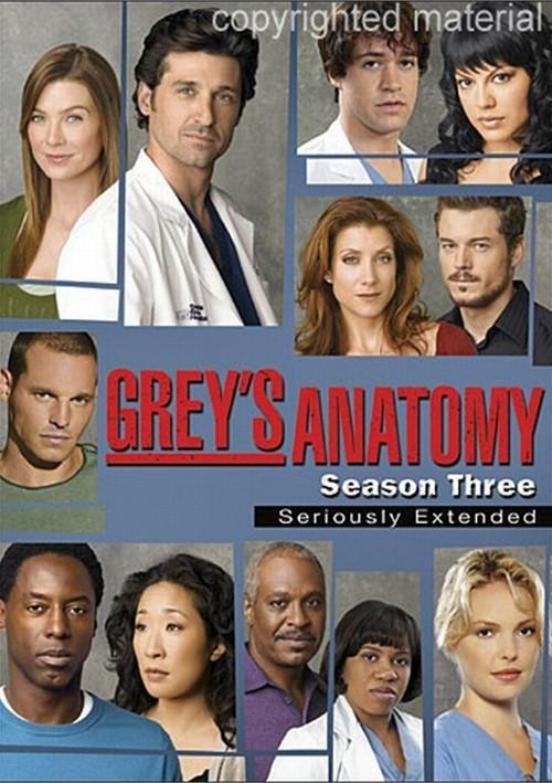 Greys Anatomy: Season Three - Seriously Extended