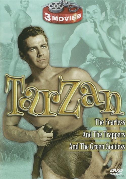 Tarzan: Tarzan & The Trappers / Tarzan The Fearless / Tarzan & The Green Goddess (Triple Feature)