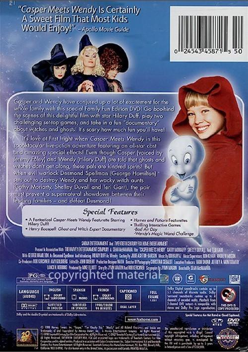 wendy dvd