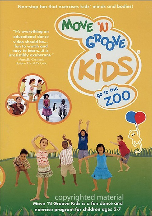 Move N Groove Kids: Go To The Zoo - Volume 2