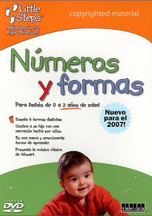 Little Steps: Numeros Y Formas