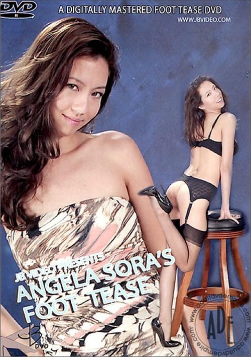 Angela Soras Foot Tease