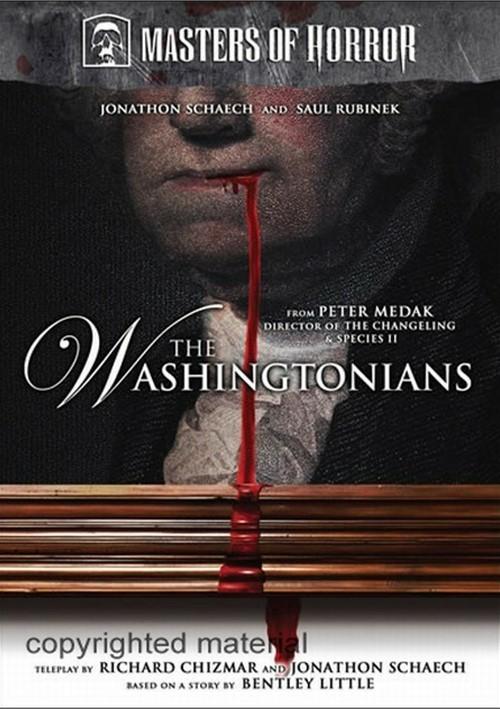 Masters Of Horror: Peter Medak - The Washingtonians