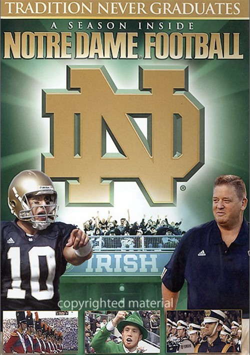 Season Inside Notre Dame Football, A