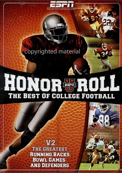 ESPN Honor Roll The Best Of College Football V2 Movie free download HD 720p