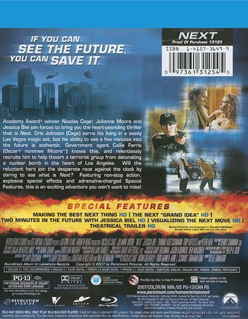 Next (Blu-ray 2007)