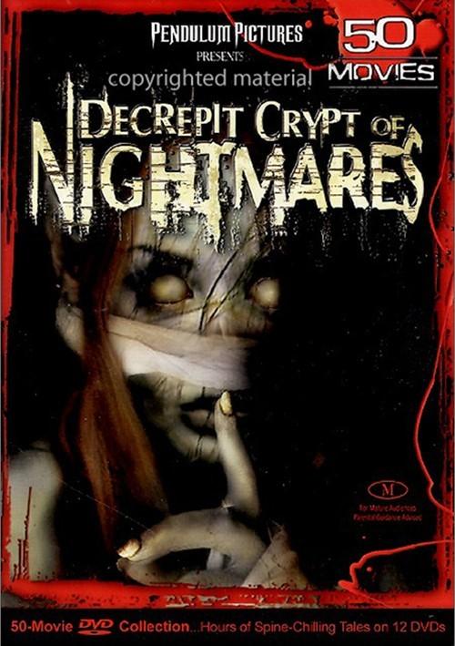 Decrepit Crypt Of Nightmares: 50 Movie Pack