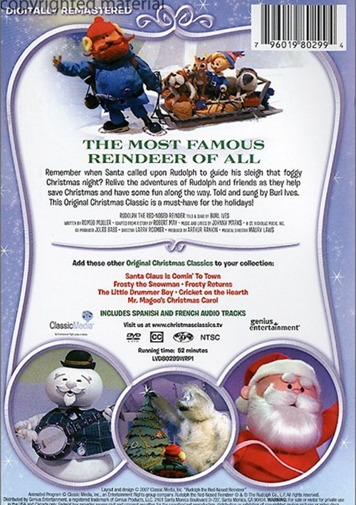 Rudolph The Red-Nosed Reindeer (DVD 1964) | DVD Empire