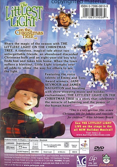 Littlest Light On The Christmas Tree The Dvd Dvd Empire