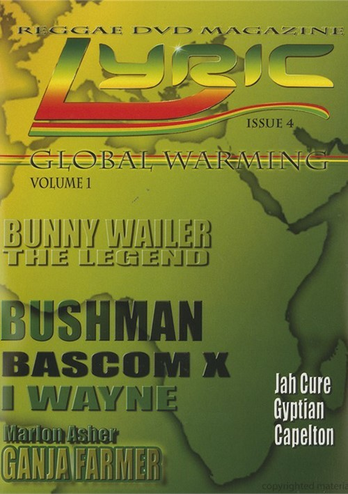 Lyric: Reggae DVD Magazine - Global Warming Vol. 1
