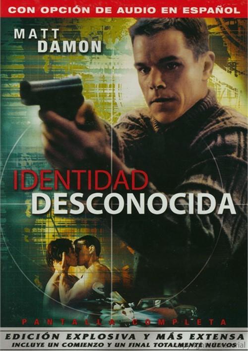 Identidad Desconocida: Edicion Explosiva Y Mas Extensa (The Bourne Identity: Explosive Extended Edition)