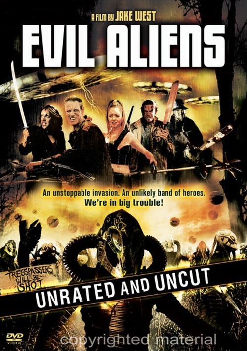 Evil Aliens: Unrated And Uncut