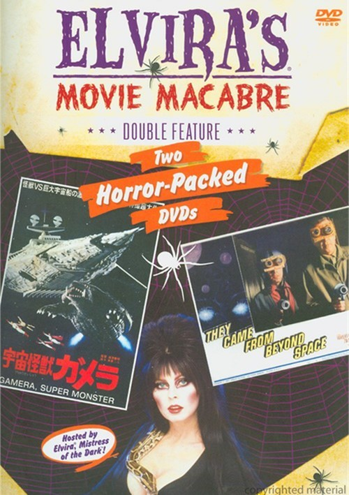 Elviras Movie Macabre: They Came From Beyond Space / Gamera, Super Monster