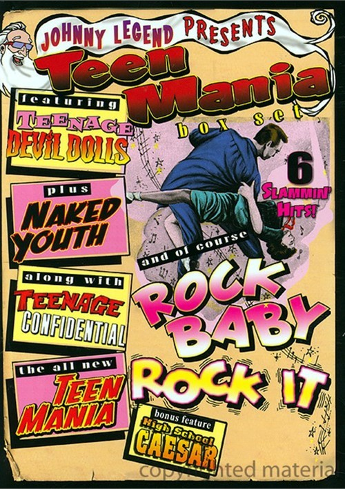 Johnny Legend Presents: Teen Mania Box Set