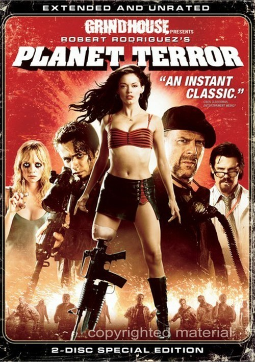 Planet Terror: Extended And Unrated - Special Edition