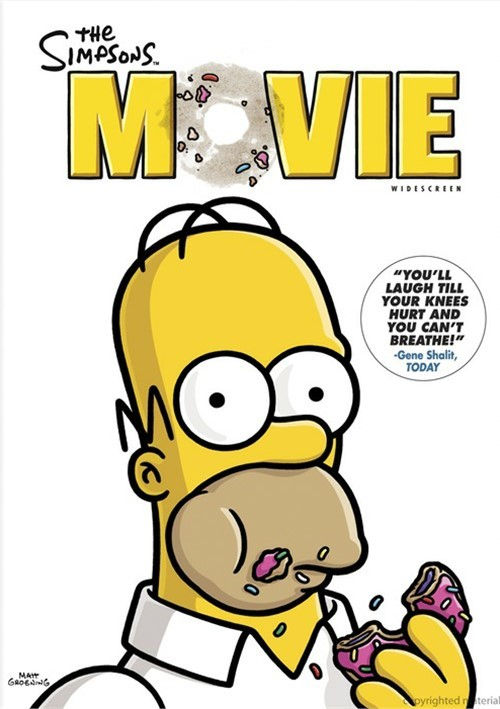 simpsons movie the widescreen dvd 2007 dvd empire