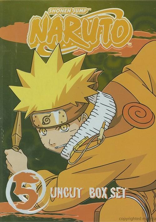 Naruto: Volume 5 - Box Set