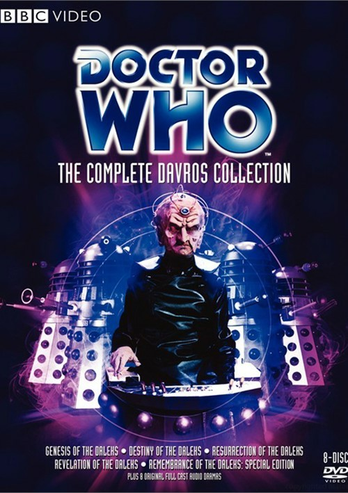 Doctor Who: The Complete Davros Collection