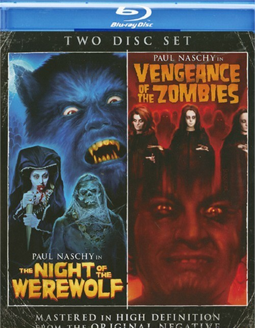 Night Of The Werewolf / Vengeance Of The Zombies (Double Feature)
