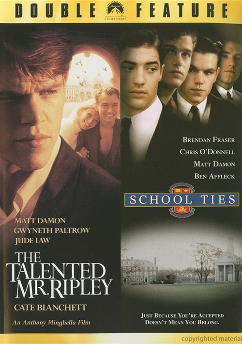 Talented Mr. Ripley, The / School Ties (Double Feature)