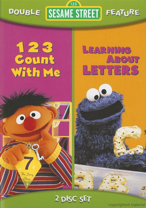 Sesame Street: 123 Count With Me / Learning About Letters (Double Feature)
