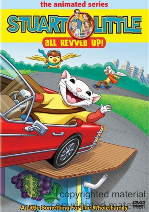 Stuart Little: The Animated Series - All Revved Up! (With Toy)
