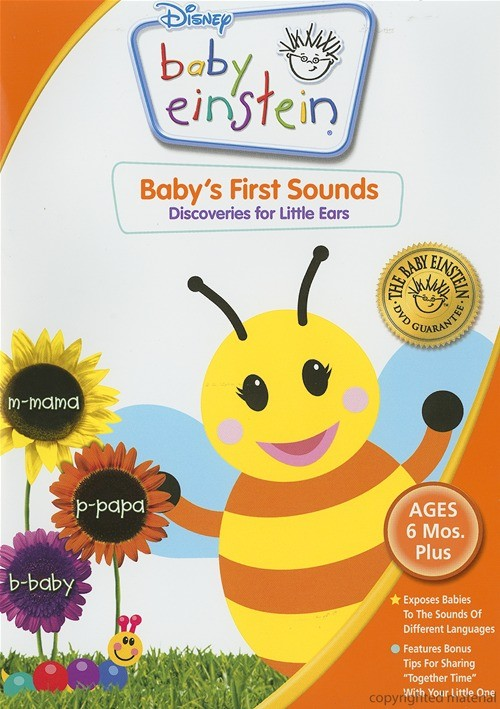 Baby Einstein Baby S First Sounds Dvd Dvd Empire