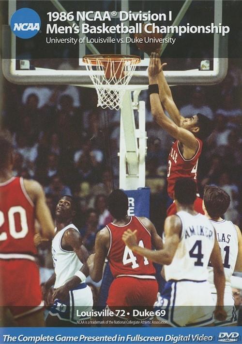 1986 NCAA Championship: Louisville Vs. Duke