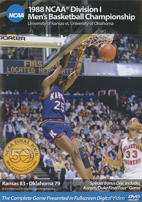 1988 NCAA Championship: Kansas Vs. Oklahoma