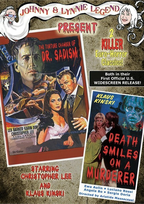 Chamber Of Dr. Sadism, The / Death Smiles On A Murderer (Double Feature)