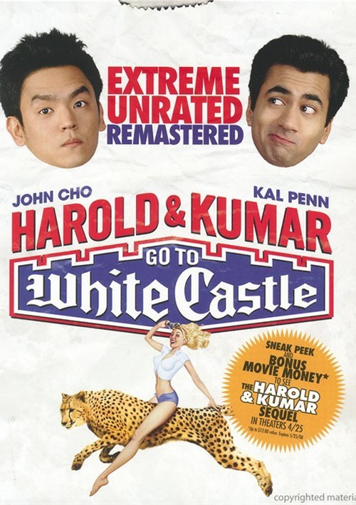 Harold & Kumar Go To White Castle: Extreme Unrated Remastered