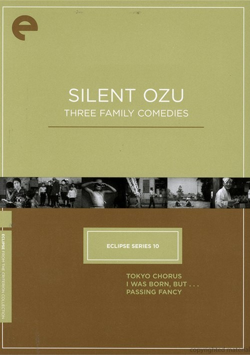 Silent Ozu: Three Family Comedies - Eclipse From The Criterion Collection