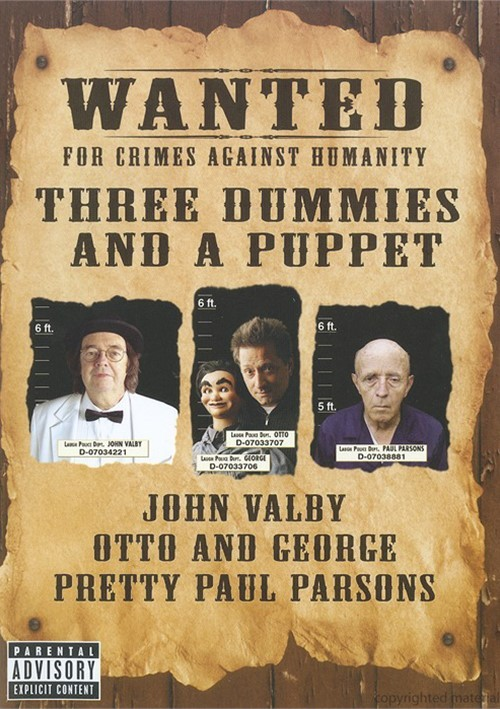 Three Dummies And A Puppet