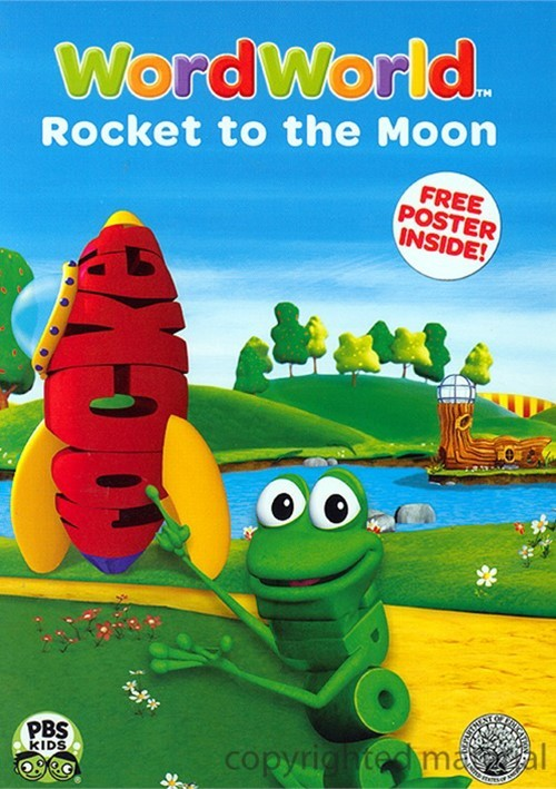 wordworld  rocket to the moon  dvd 2007