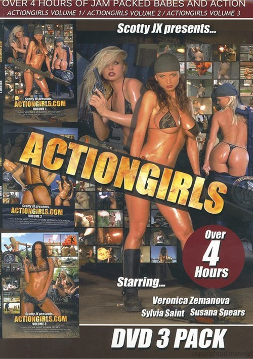Actiongirls DVD 3 Pack